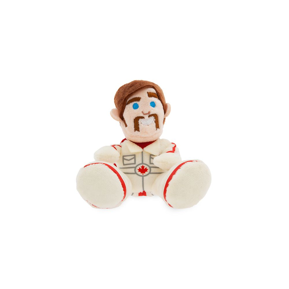 Duke Caboom Tiny Big Feet Plush – Toy Story 4 – Micro