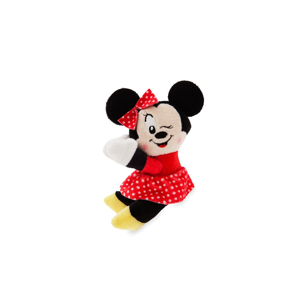Minnie Mouse Plush Clip-On – Micro