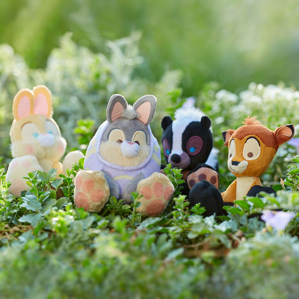 Miss Bunny Tiny Big Feet Plush – Bambi – Easter – Micro
