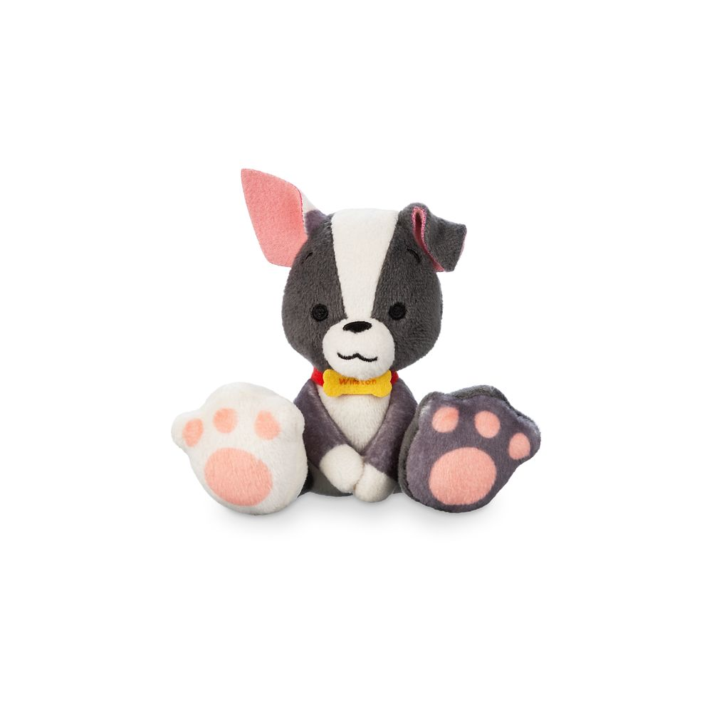 Winston Tiny Big Feet Plush – Feast – Disney Dogs – Micro