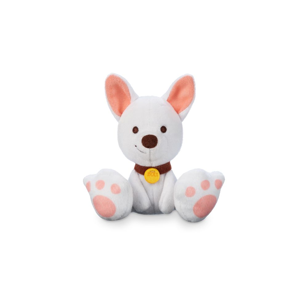 Bolt Tiny Big Feet Plush – Disney Dogs – Micro