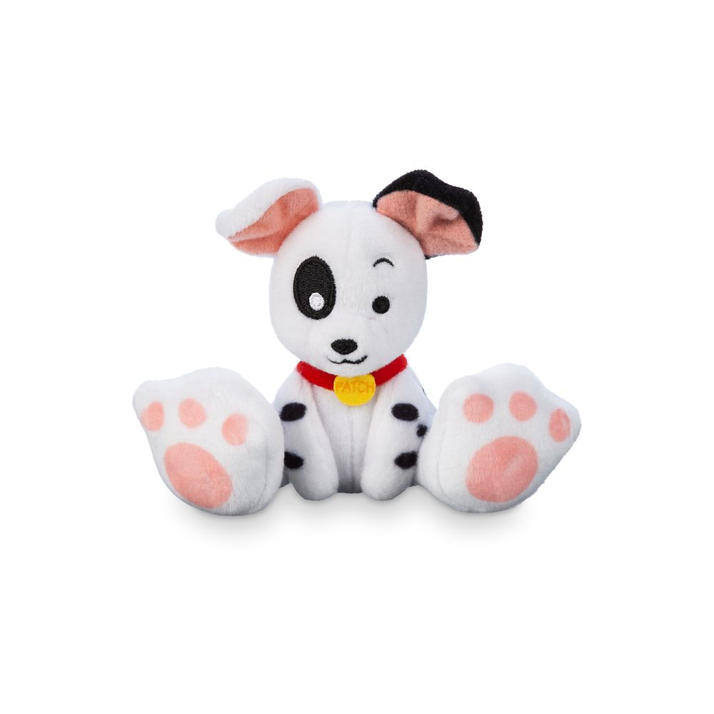 Patch Tiny Big Feet Plush – 101 Dalmatians – Disney Dogs – Micro