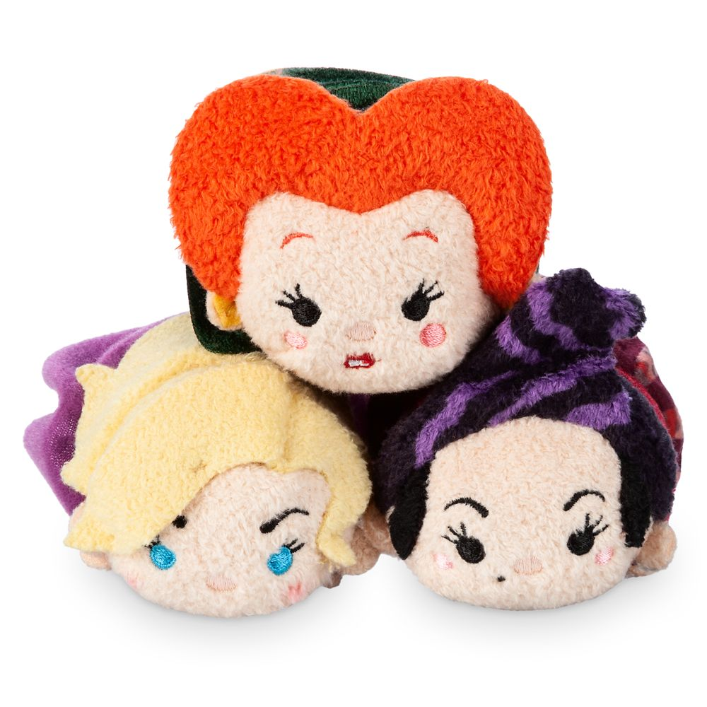 Hocus Pocus ''Tsum Tsum'' Plush Set – Mini 3 1/2''