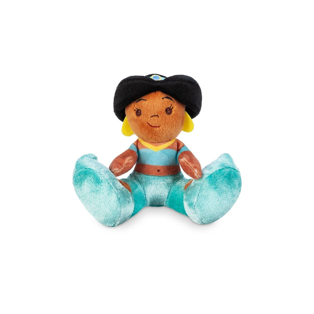 Jasmine Tiny Big Feet Plush – Aladdin – Micro