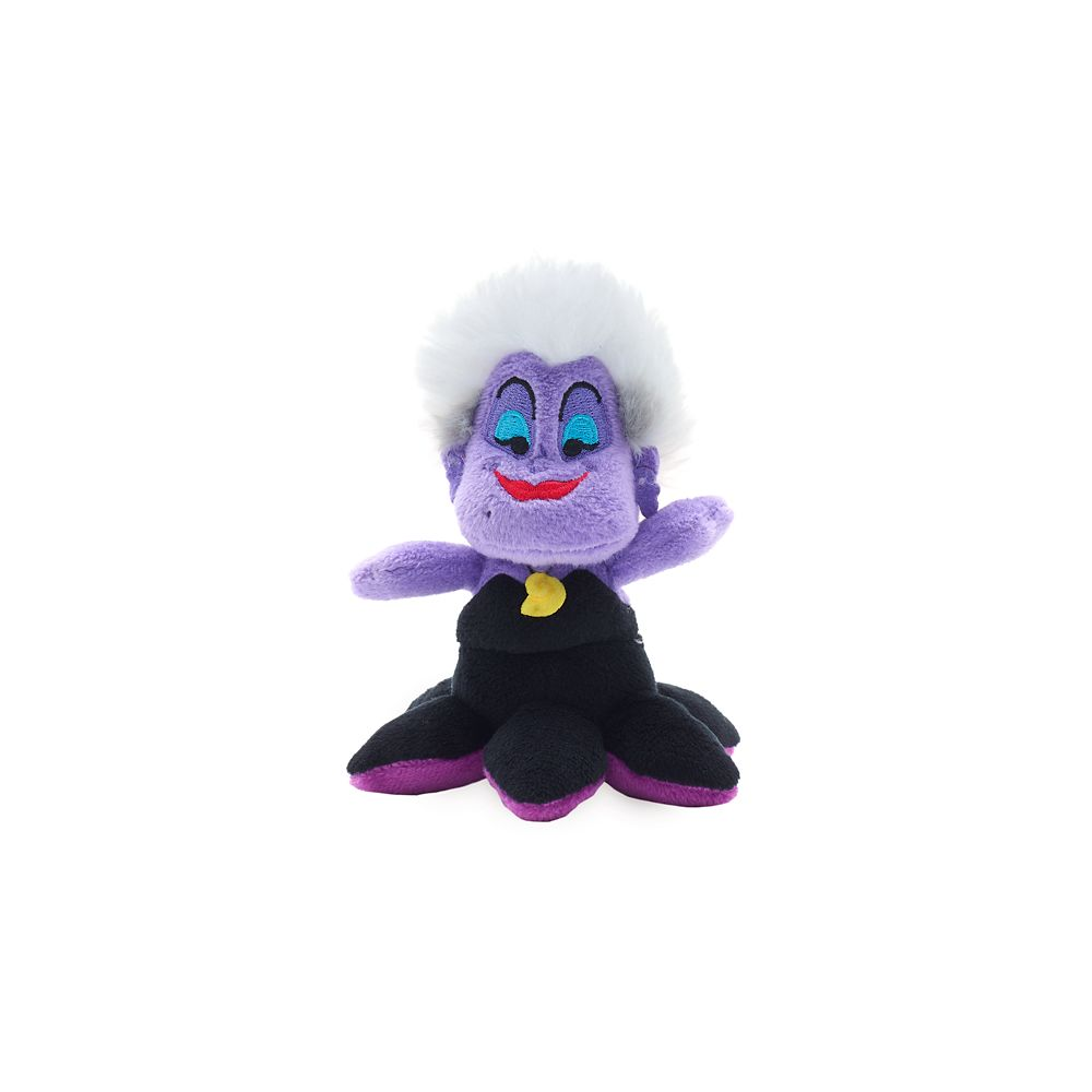 Ursula Tiny Big Fins Plush – The Little Mermaid – Micro – 5''