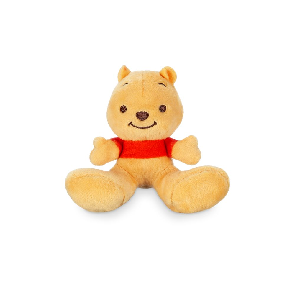 Winnie the Pooh Tiny Big Feet Plush – Micro