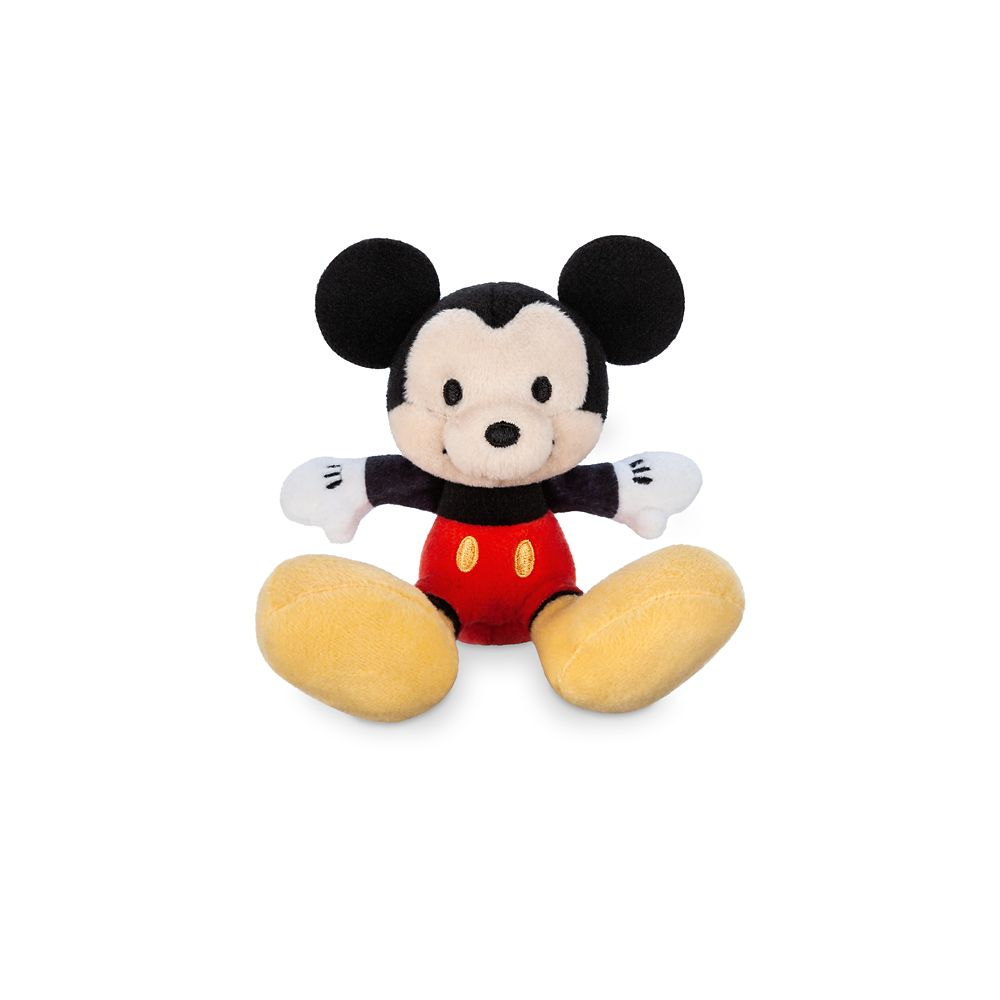 Mickey Mouse Tiny Big Feet Plush – Micro
