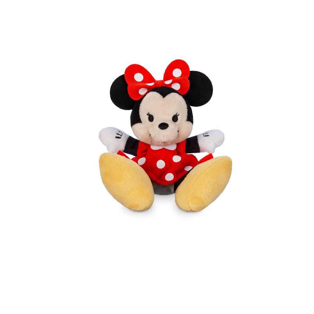 Minnie Mouse Tiny Big Feet Plush – Micro