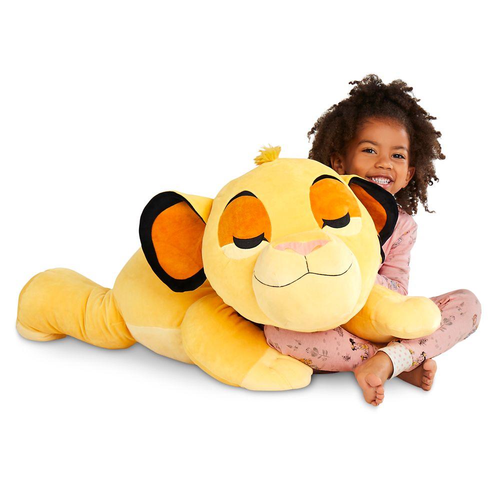 Simba Cuddleez Plush – Jumbo – 30''