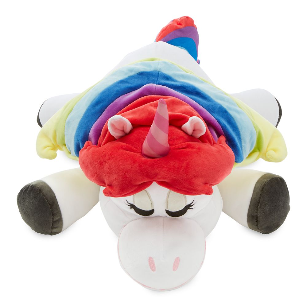 Rainbow Unicorn Cuddleez Plush – Inside Out – Large – 25''