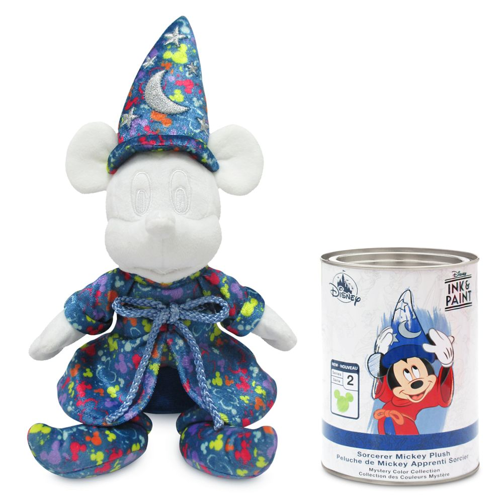Sorcerer Mickey Mouse Mystery Plush Paint Can Wave 2 – Disney Ink & Paint