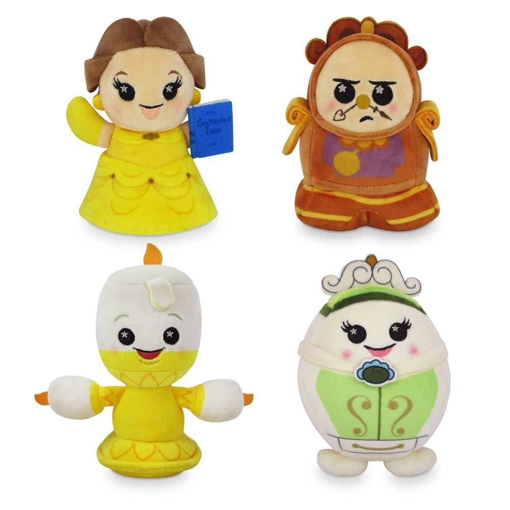Disney Parks Wishables Mystery Plush – Beauty and the Beast Series – Micro 5''