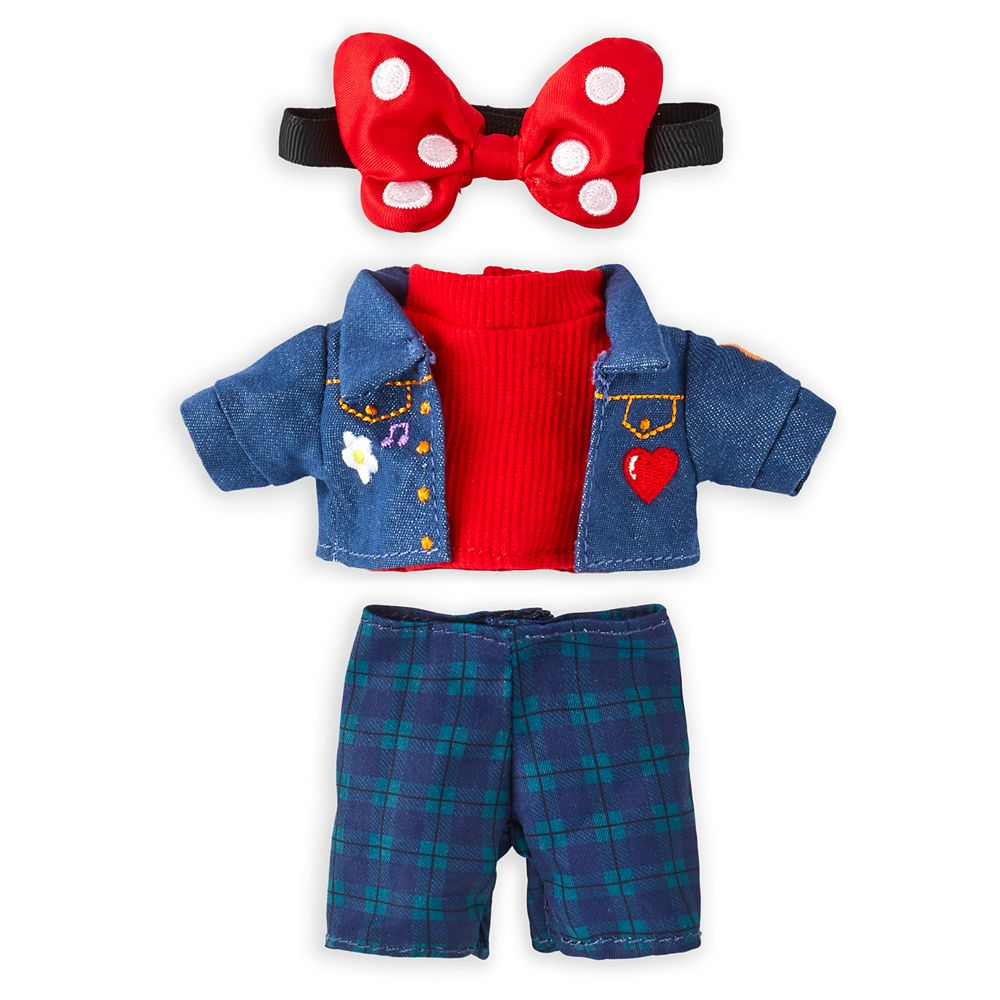 Disney nuiMOs Outfit  Denim Jacket and Pants Set