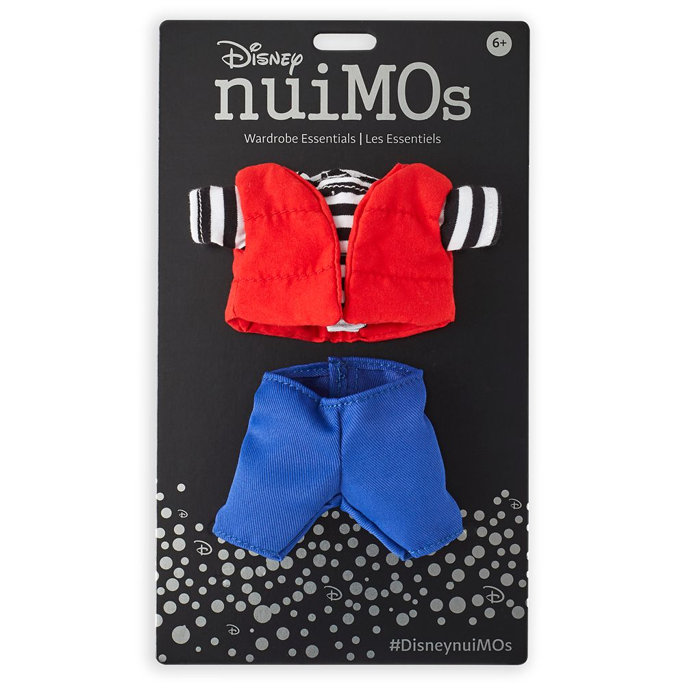 Disney nuiMOs Outfit – Vest, Top, and Pants Set