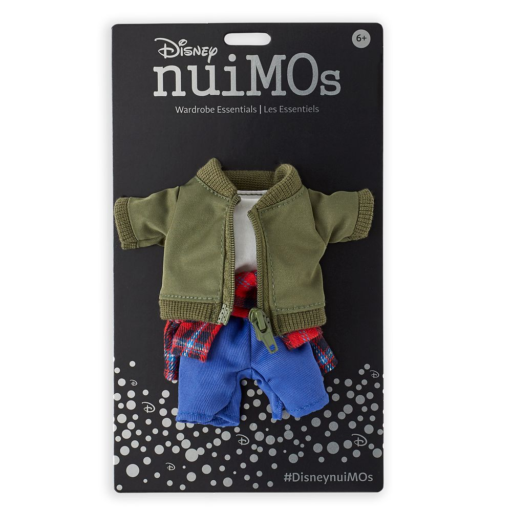 Disney nuiMOs Outfit – Jacket and Plaid Shirt Set