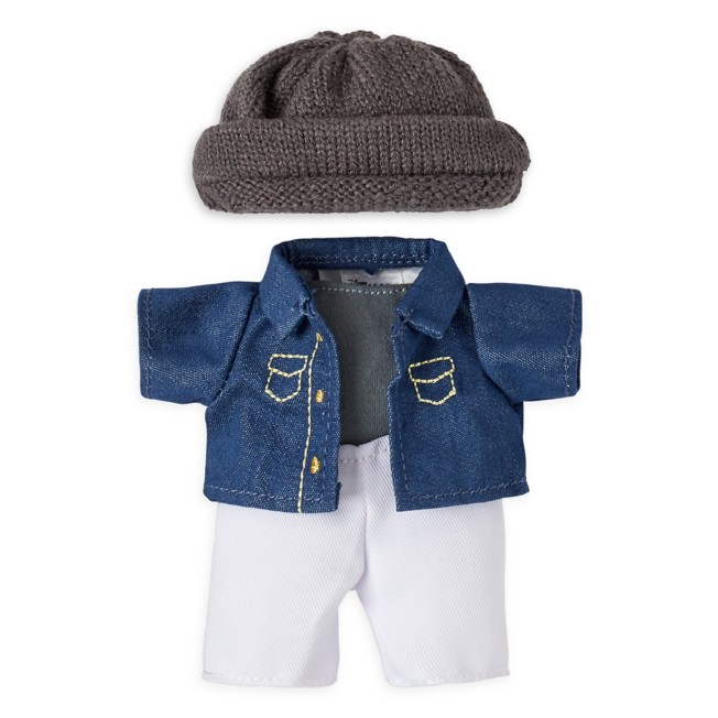 Disney nuiMOs Outfit – Denim Jacket and Knitted Hat Set