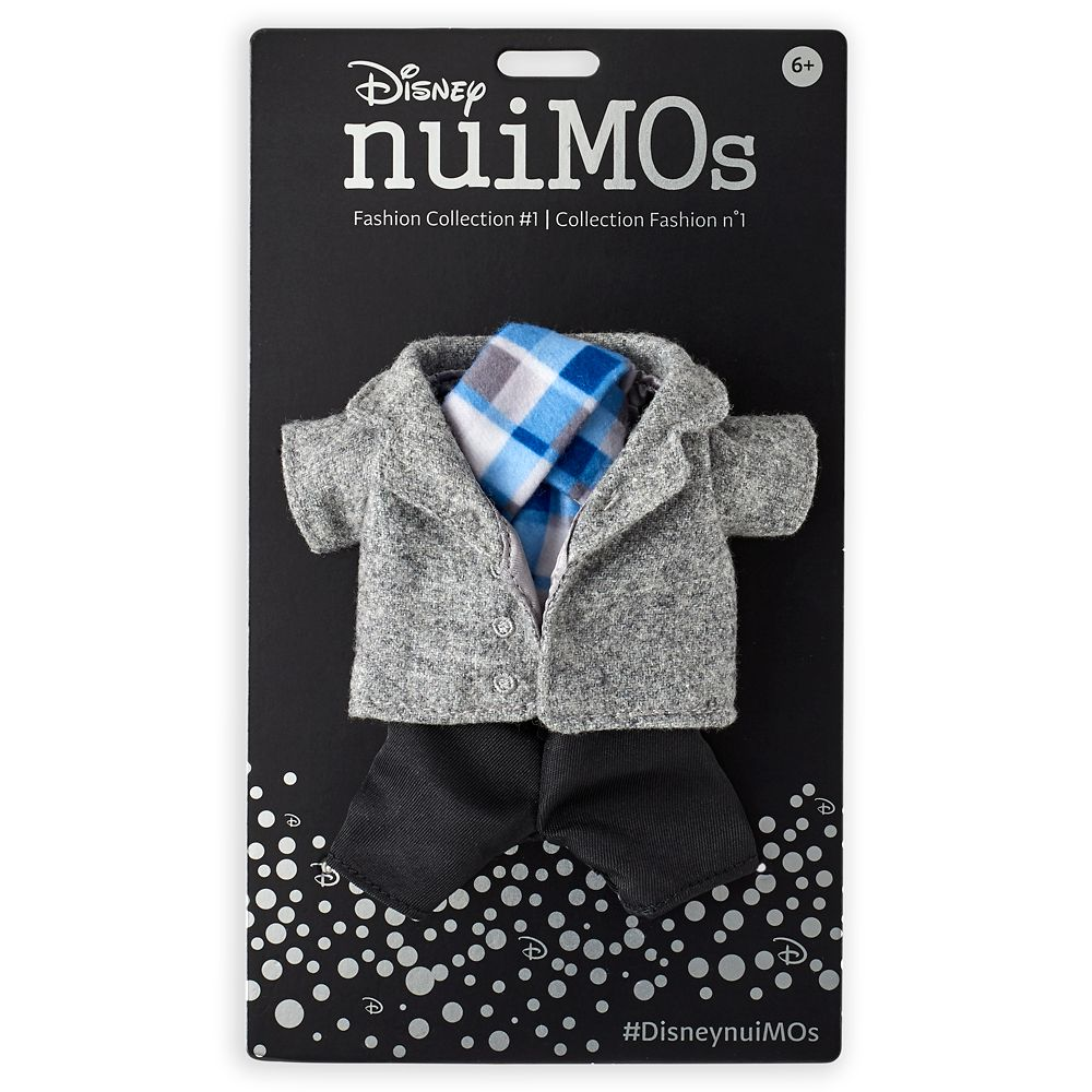 Disney nuiMOs Outfit – Woven Coat, Pants, and Scarf Set