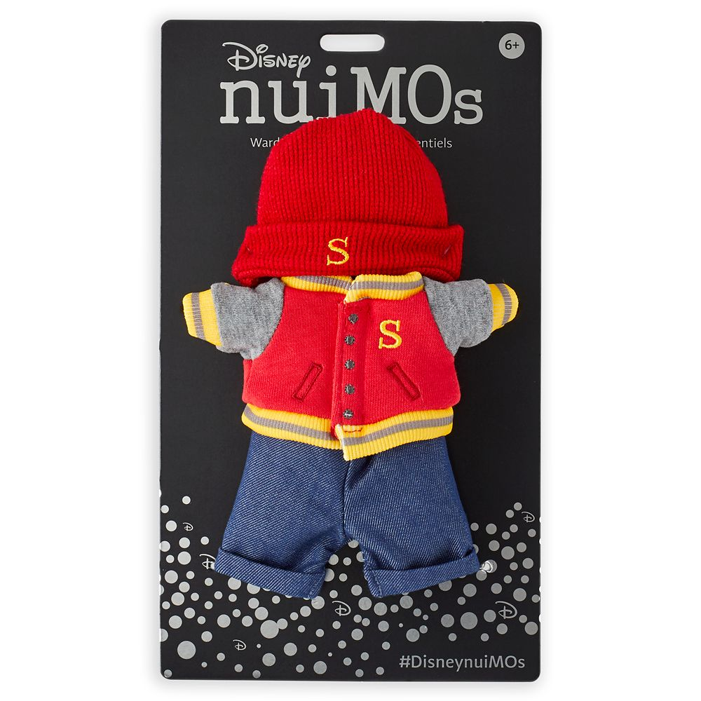 Disney nuiMOs Outfit – Varsity Jacket and Hat Set
