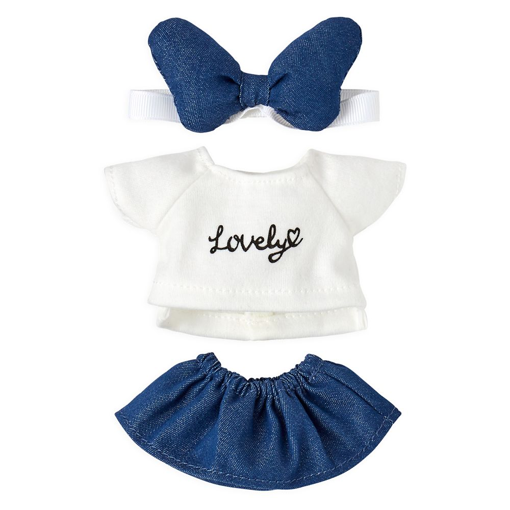 Disney nuiMOs Outfit – Sweater, Skirt, and Headband Set