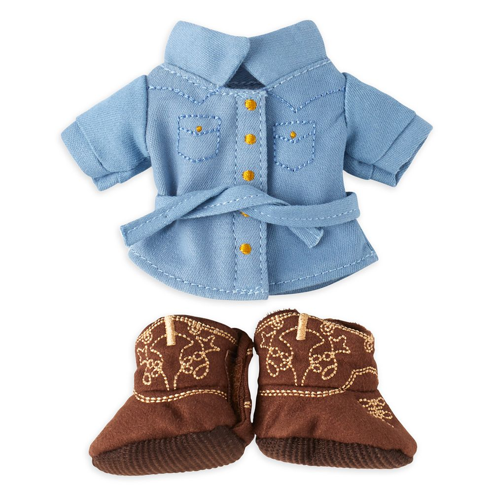 Disney nuiMOs Outfit – Dress and Cowboy Boots Set