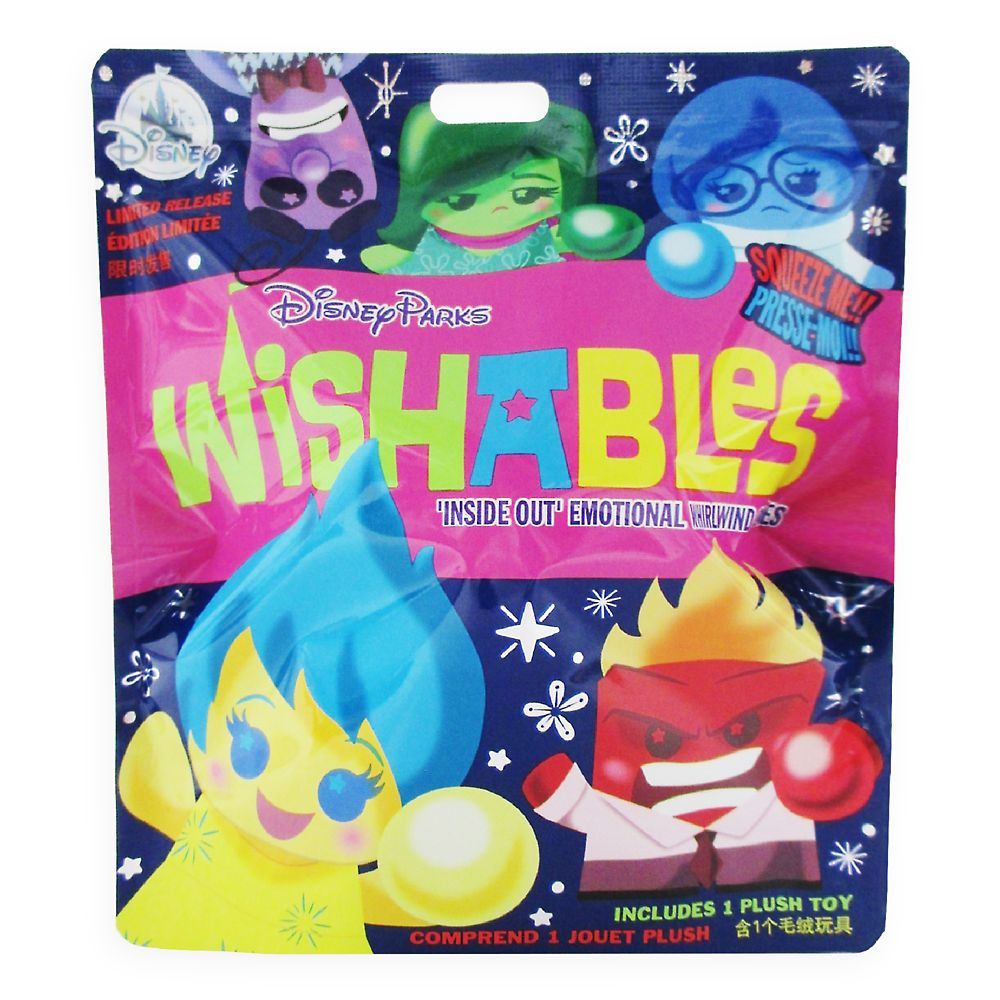 Disney Parks Wishables Mystery Plush – Inside Out – Micro 4''