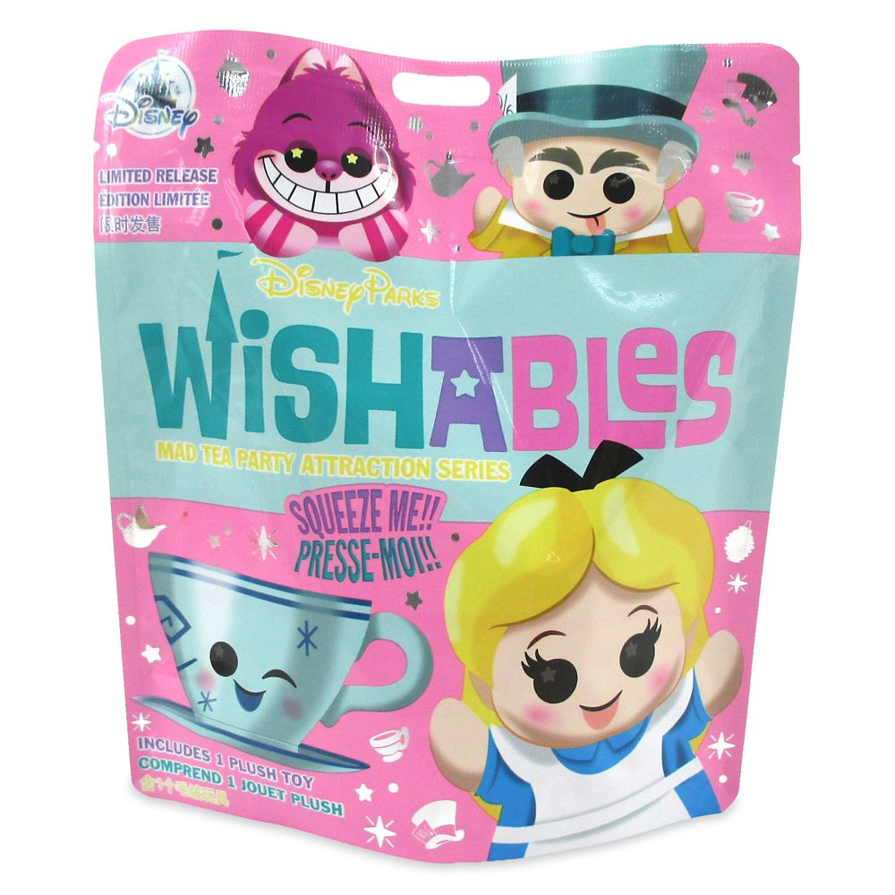 Disney Parks Wishables Mystery Plush – Mad Tea Party – Micro