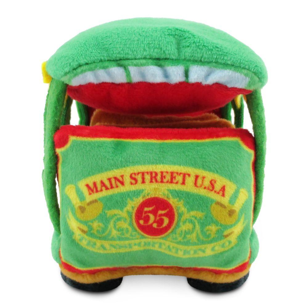 Main Street Trolley Disney Parks Wishables Plush – Transportation – Micro