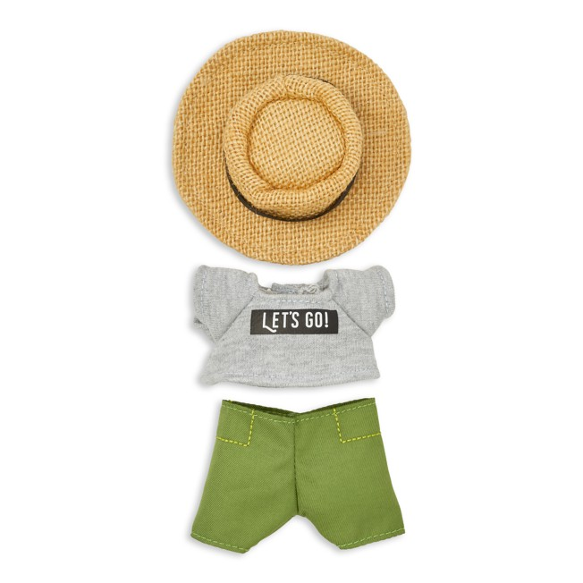 Disney nuiMOs Outfit – T-shirt with Pants and Straw Hat