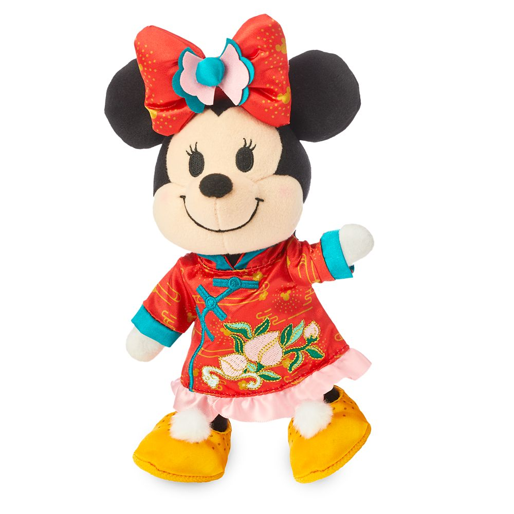 Minnie Mouse Disney nuiMOs Plush and Chinese New Year Set