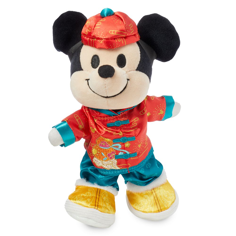 Mickey Mouse Disney nuiMOs Plush and Chinese New Year Set
