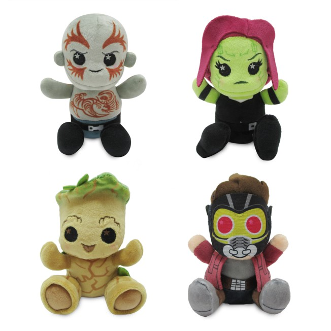 Disney Parks Wishables Mystery Plush – Guardians of the Galaxy: Mission Breakout! – Micro 4'' – Limited Release