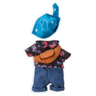 Disney nuiMOs Outfit – Floral Shirt with Bandana and Sling Bag Set
