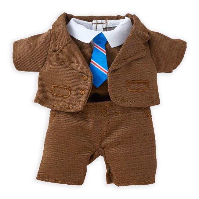 Disney nuiMOs Outfit – Brown Tweed Suit Set