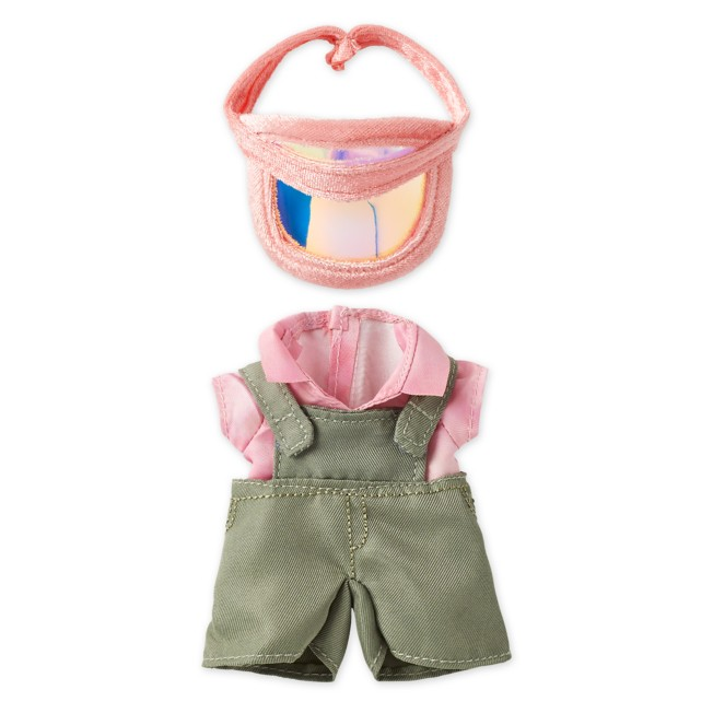 Disney nuiMOs Outfit – Olive Overalls with Pink Visor