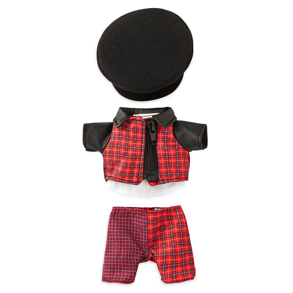 Disney nuiMOs Outfit – Cruella Inspired Plaid Suit with Black Hat