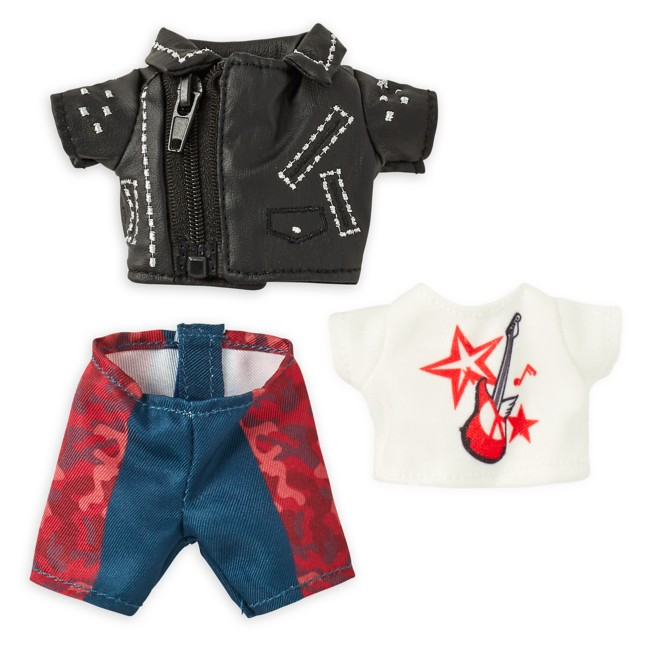 Disney nuiMOs Outfit – Cruella Inspired Faux Leather Jacket with Graphic T-Shirt and Pants
