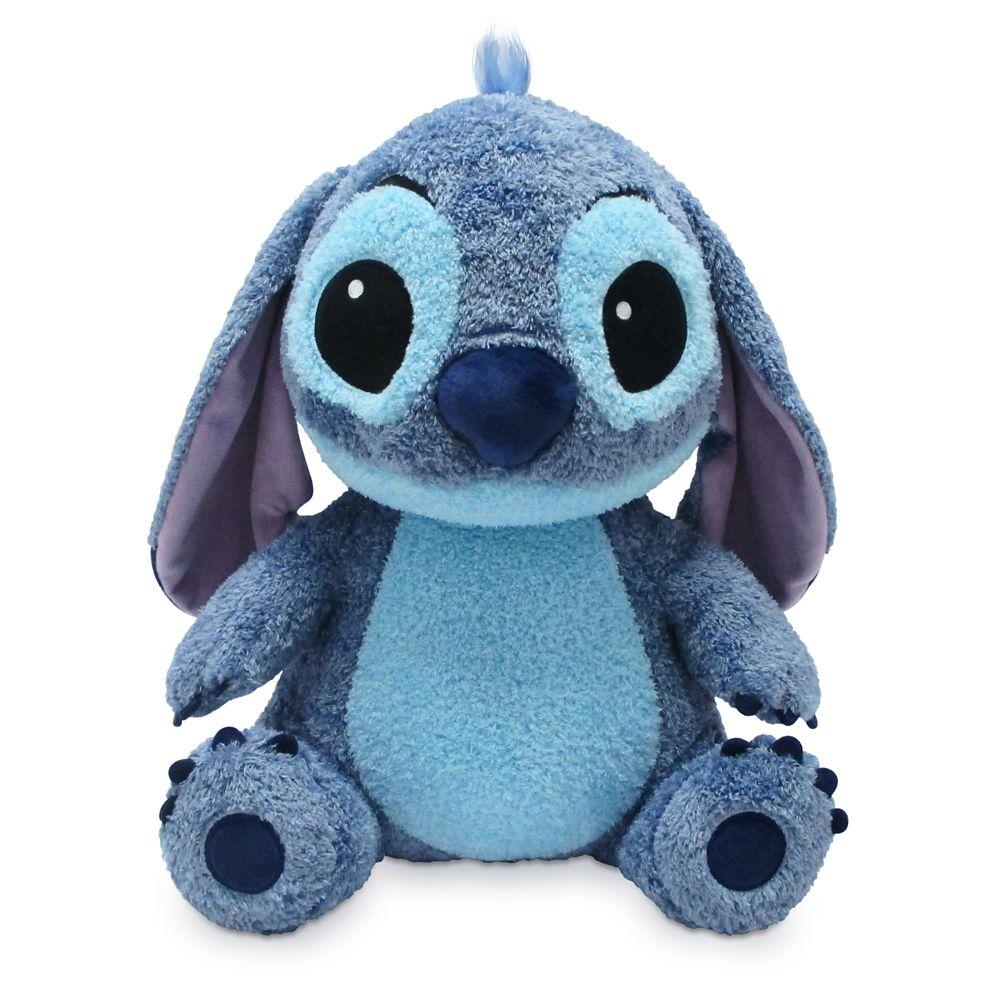 Stitch Weighted Plush – Medium 14''