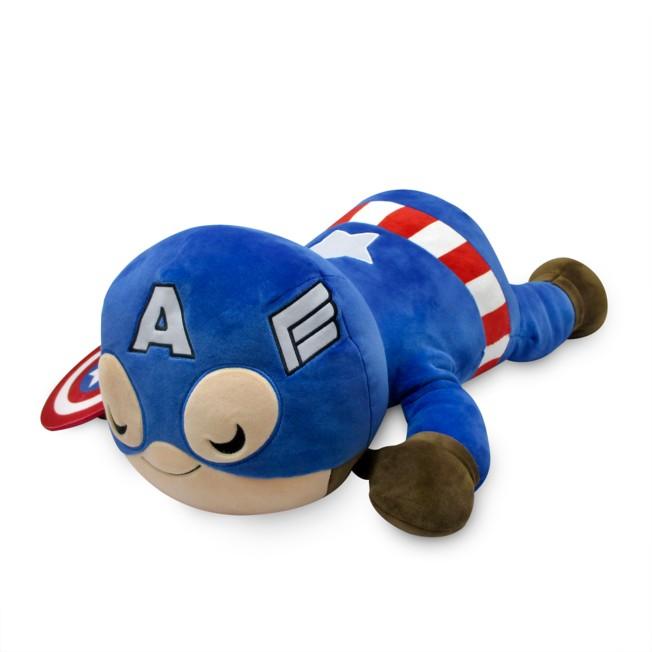 Captain America Cuddleez Plush – Large 22''