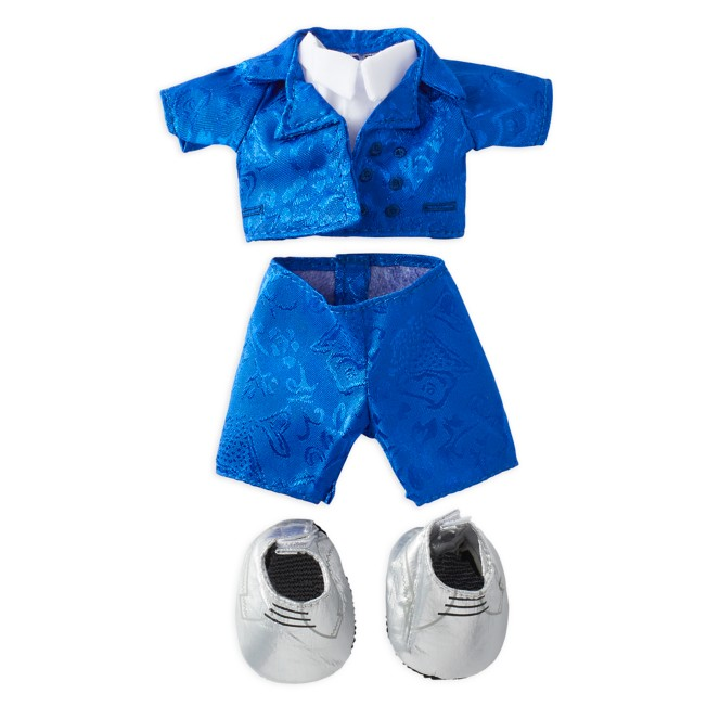 Disney nuiMOs Outfit – Blue Tuxedo with Silver Shoes