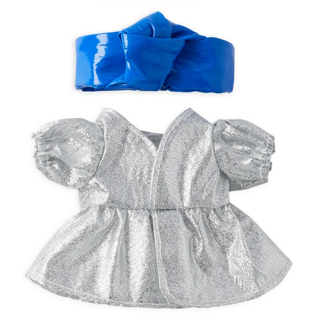 Disney nuiMOs Outfit – Silver Dress with Blue Headband