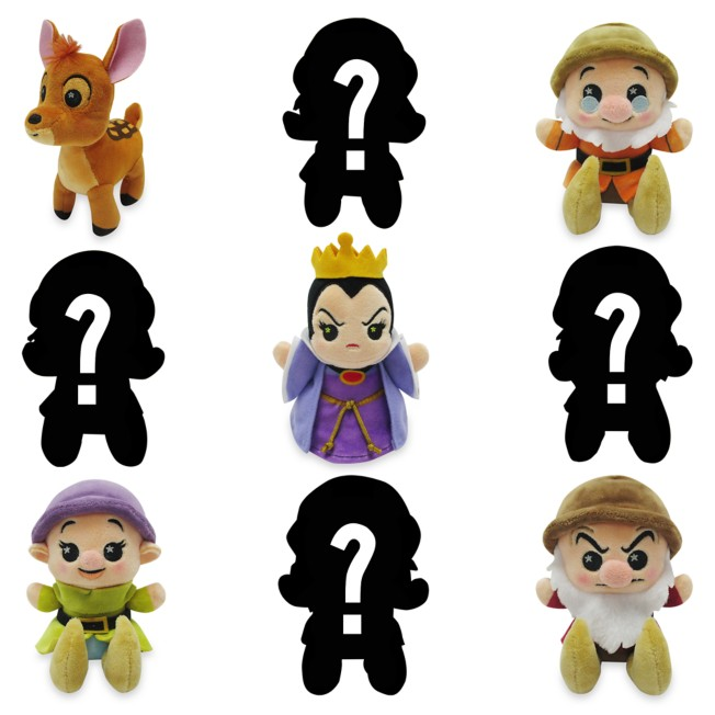 Disney Parks Wishables Mystery Plush – Snow White and the Seven Dwarfs – Micro 5'' – Limited Release