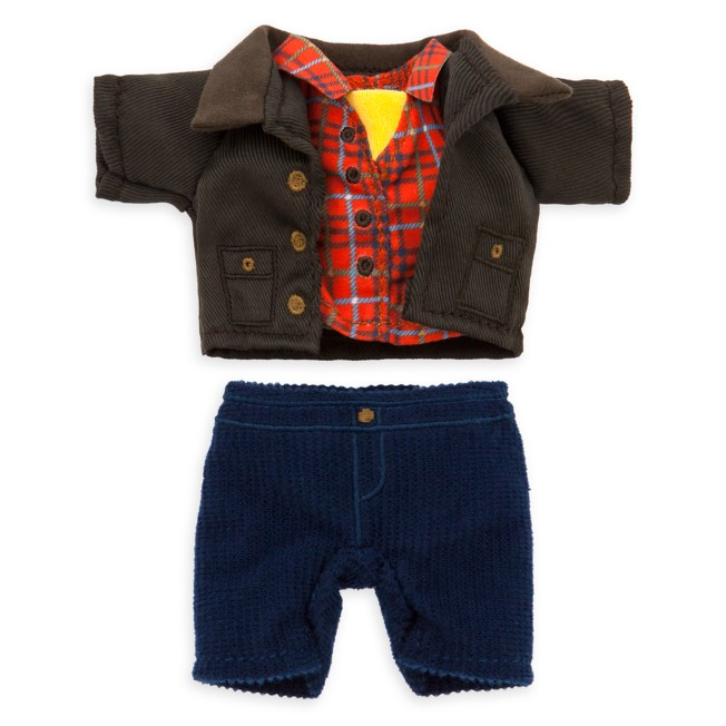 Disney nuiMOs Outfit – Plaid Shirt with Corduroy Pants and Jacket