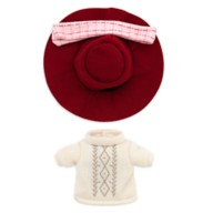 Disney nuiMOs Outfit – Sweater Dress with Plaid Scarf and Hat