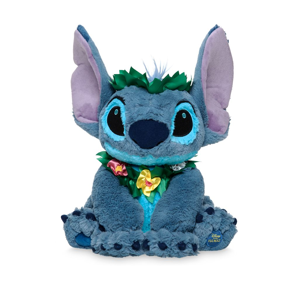 Stitch Plush  Hawaii  16'' Official shopDisney