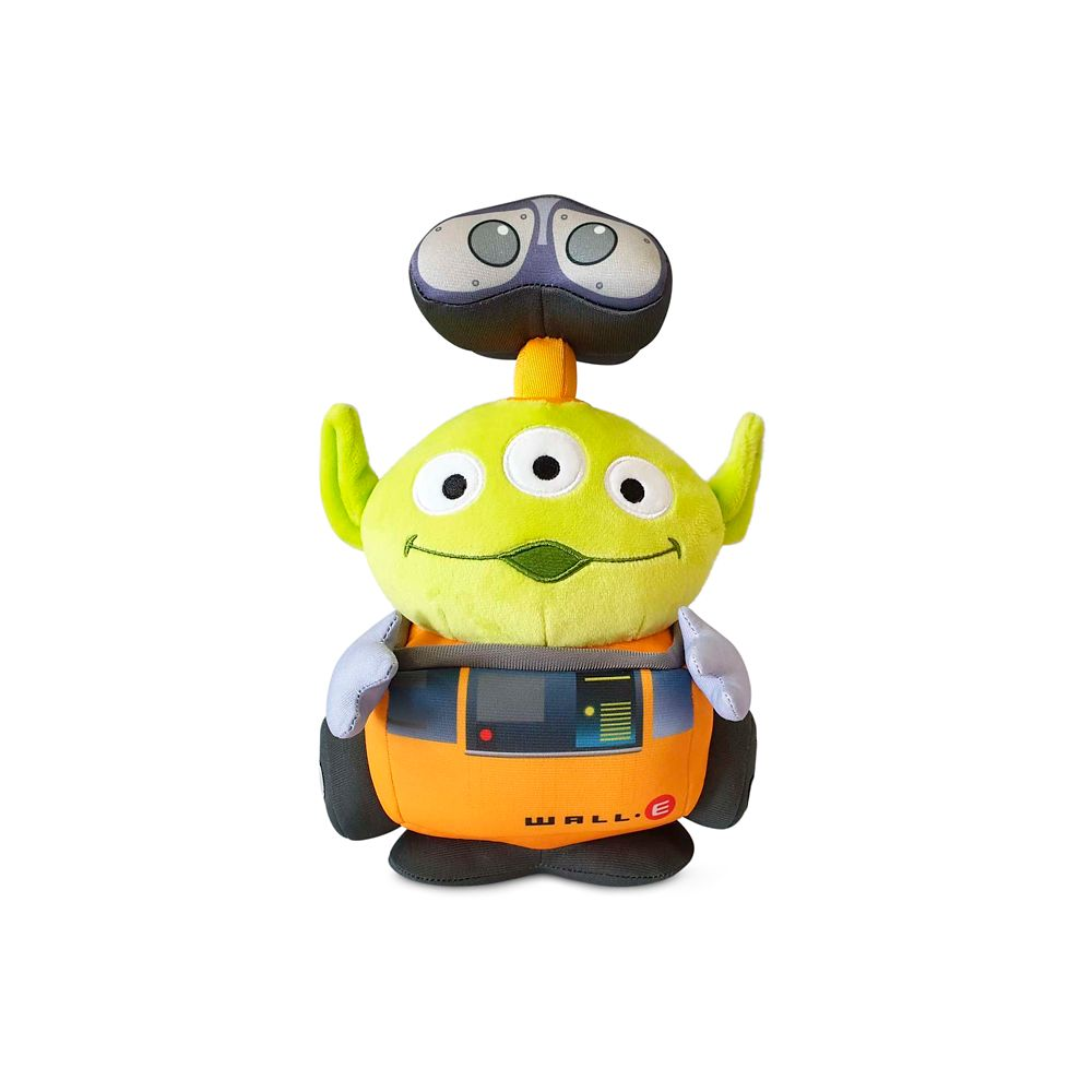 Toy Story Alien Pixar Remix Plush – WALL•E  – 9'' – Limited Release