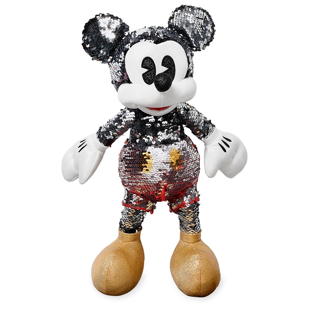 Mickey Mouse Reversible Sequin Plush – Small – 15'' – Special Edition