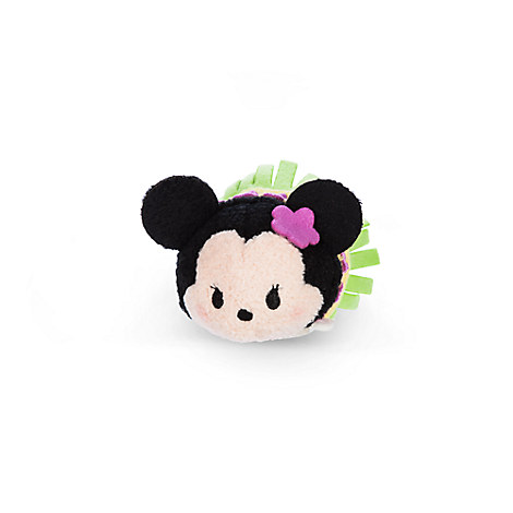 Minnie Mouse ''Tsum Tsum'' Plush - Hawaii - Mini - 3 1/2''