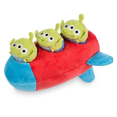 Three Aliens ''Tsum Tsum'' Plush Set - Toy Story