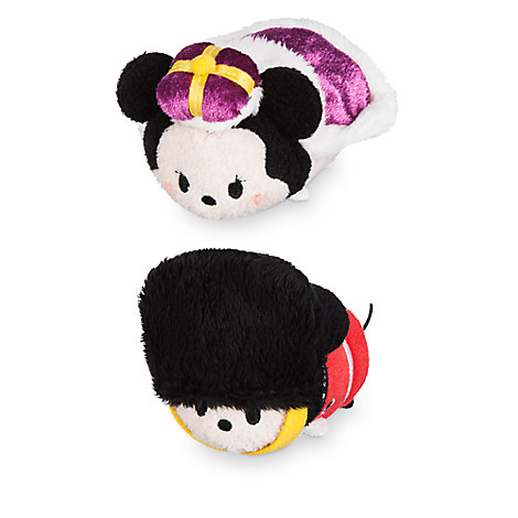 Mickey and Minnie Mouse ''Tsum Tsum'' Plush London Set - Mini 3 1/2''