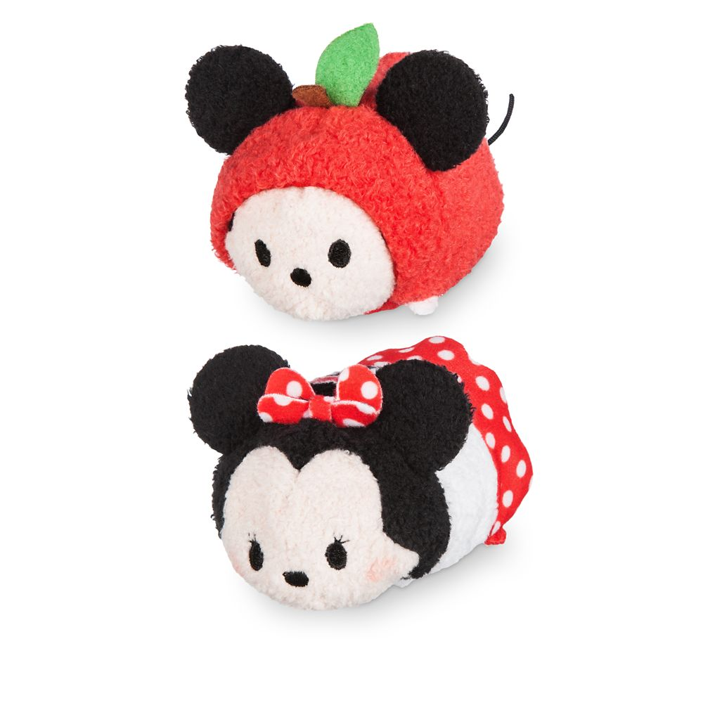 Mickey and Minnie Mouse ''Tsum Tsum'' Plush New York Set – Mini 3 1/2''